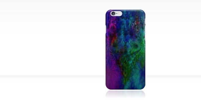 fractal art, fractal art phone cover