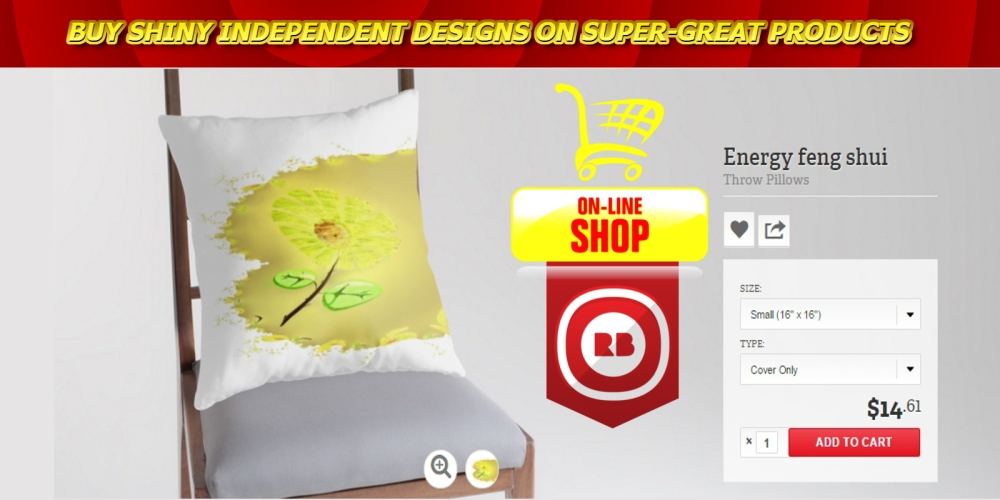 pillow, modern pillow, feng shui pillow, digital feng shui pillow, original pillow, flower pillow, energy pillow