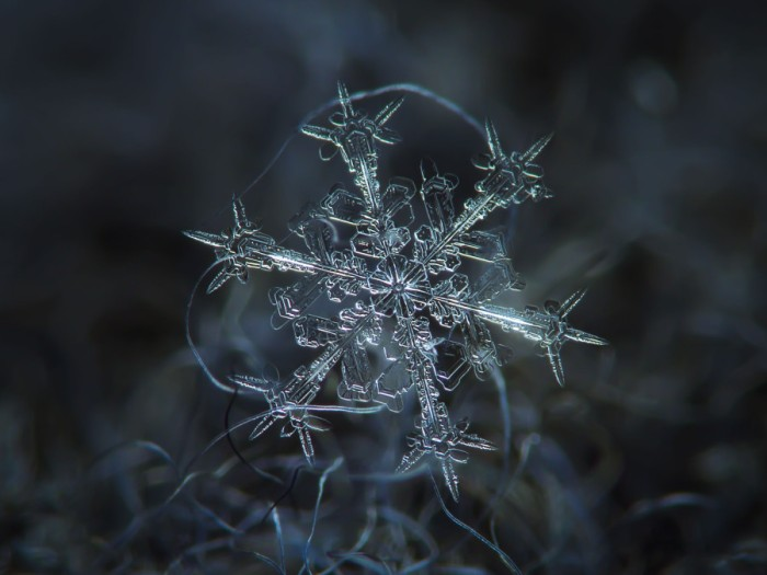 snowflake, koch fractal