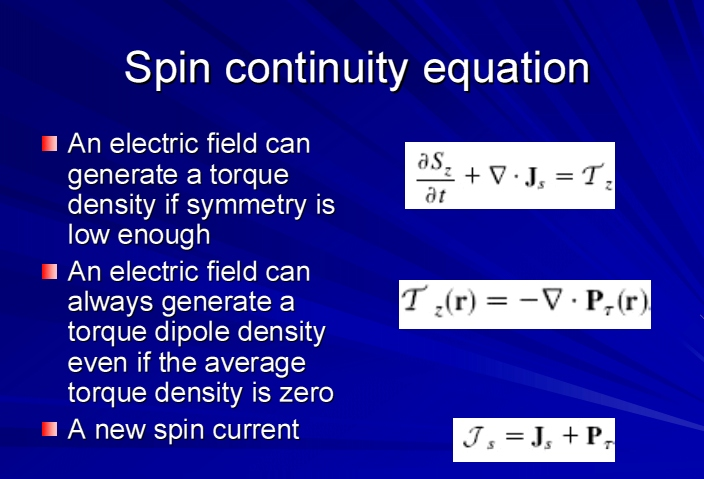 spin-current-equation